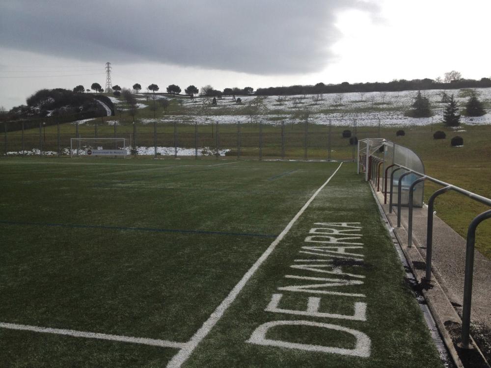 Das Sportgelände der Universidad de Navarra